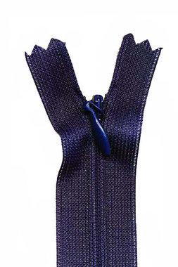 Blinde rits donker blauw #318 22,5 cm (5 stuks)