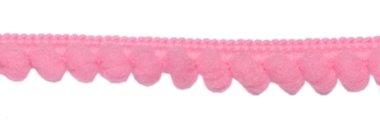 Bolletjesband roze 10 mm (ca. 32 meter)