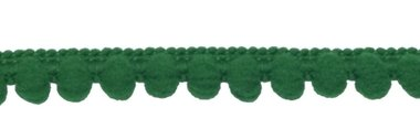 Bolletjesband groen 10 mm (ca. 32 meter)