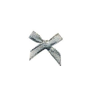 Strikje zilver 18 x 18 mm (ca. 25 stuks)