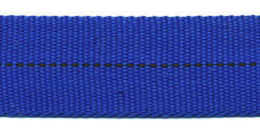 TUNNELband 25 mm kobalt blauw (ca. 5 m)