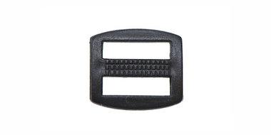 Schuifgesp zwart kunststof 13 mm (100 stuks)