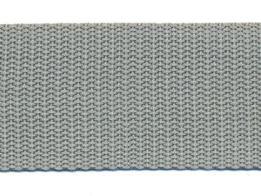 Tassenband 38 mm licht grijs (ca. 50 m)