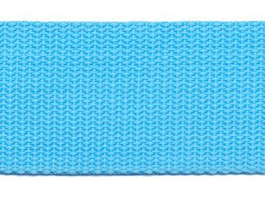 Tassenband 38 mm aqua (ca. 50 m)