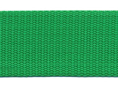 Tassenband 38 mm grasgroen (ca. 50 m)