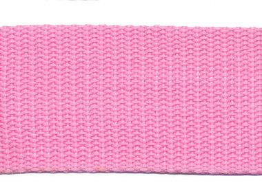 Tassenband 38 mm roze (ca. 50 m)