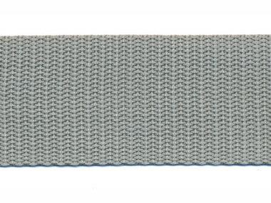 Tassenband 30 mm licht grijs (50 m)