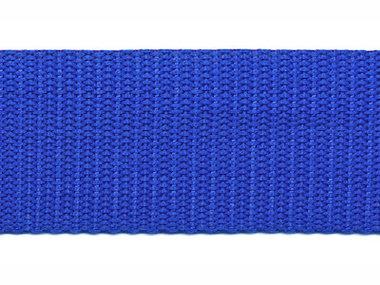 Tassenband 30 mm kobalt blauw (50 m)