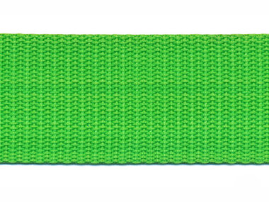 Tassenband 30 mm gifgroen (50 m)