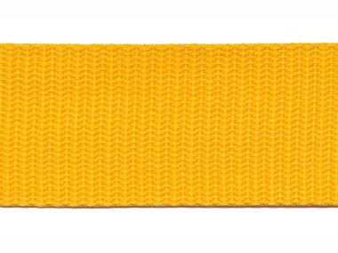 Tassenband 30 mm geel (50 m)