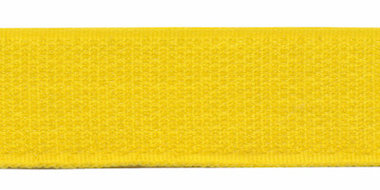 Klittenband 25 mm geel (ca. 18 m)