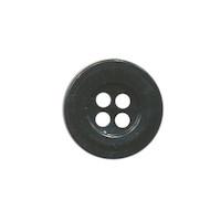 Knoop eenvoudig zwart 15 mm (ca. 100 stuks)