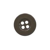 Knoop eenvoudig bruin 15 mm (ca. 100 stuks)
