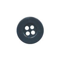 Knoop eenvoudig donker blauw 15 mm (ca. 100 stuks)