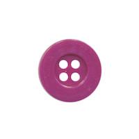 Knoop eenvoudig oud paars 15 mm (ca. 100 stuks)
