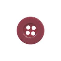 Knoop eenvoudig bordeaux 15 mm (ca. 100 stuks)