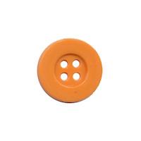 Knoop eenvoudig oranje 15 mm (ca. 100 stuks)