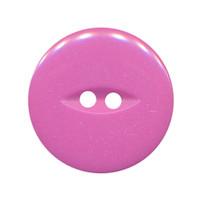 Knoop roze met 2 gaten 25 mm (ca. 25 stuks)