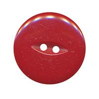 Knoop bordeaux met 2 gaten 25 mm (ca. 25 stuks)