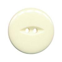 Knoop creme met 2 gaten 25 mm (ca. 25 stuks)