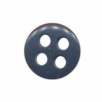 Knoop antraciet met 4 grote gaten 19 mm (ca. 25 stuks)