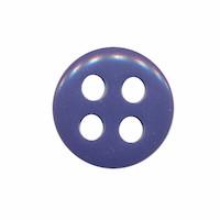 Knoop kobalt blauw met 4 grote gaten 19 mm (ca. 25 stuks)