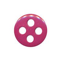 Knoop cyclaam met 4 grote gaten 19 mm (ca. 25 stuks)
