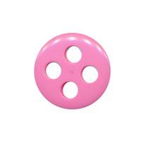 Knoop licht roze met 4 grote gaten 19 mm (ca. 25 stuks)