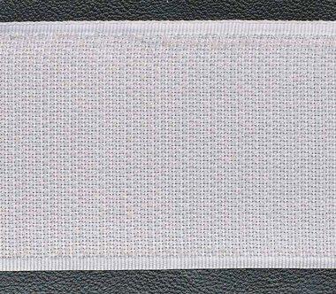 Klittenband 50 mm wit (rol van ca. 18 m)