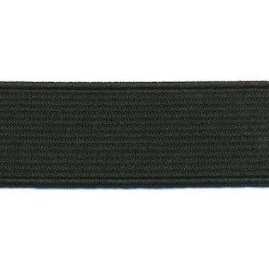 Zwart elastiek ca. 25 mm (25 m)