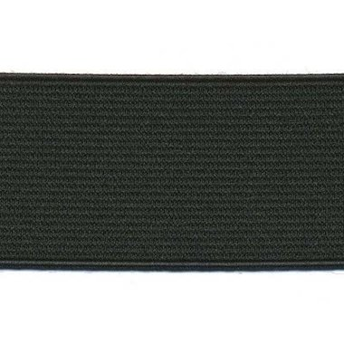 Zwart elastiek ca. 40 mm (50 m)