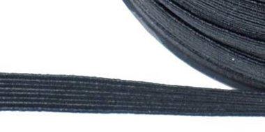 Zwart elastiek ca. 6 mm (250 m)