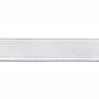 Wit elastiek ca. 15 mm (150 m)