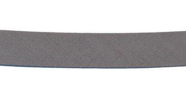 Grijs biaisband 13 mm (ca. 10 meter)