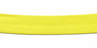 Citroen geel biaisband 13 mm (ca. 10 meter)
