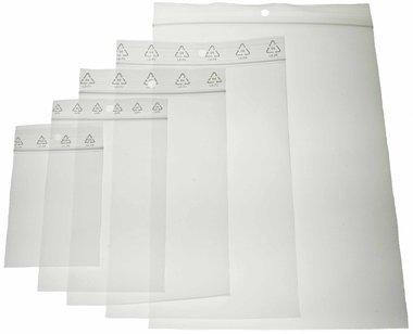 Gripzakken 180 x 250 mm (ca. 100 stuks)