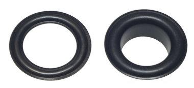 Nestels 14 mm (maat #28) zwart staal (ca. 50 sets)