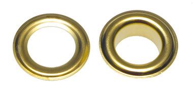 Nestels 14 mm (maat #28) goudkleurig staal (ca. 50 sets)