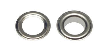 Nestels 10 mm (maat #25) vernikkeld staal (ca. 50 sets)