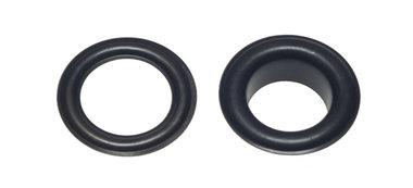 Nestels 10 mm (maat #25) zwart staal (ca. 50 sets)