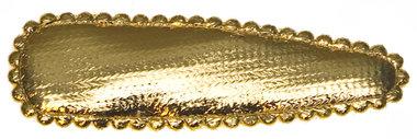 Haarkniphoesje goud 5 cm (ca. 100 stuks)