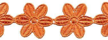 Oranje bloemband 50 mm (ca. 4 m)