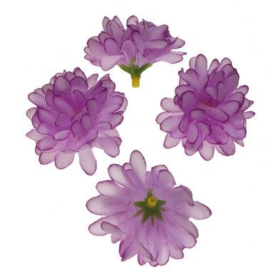 Chrysant lila met ronde blaadjes ca. 5 cm (10 stuks)