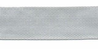 Biesband ca. 22 mm licht grijs (100 m)
