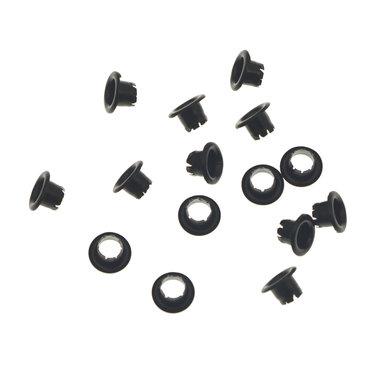 Nestels 4 mm (maat #261) zwart staal (ca. 1.000 stuks)
