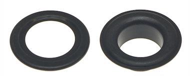 Nestels 15 mm (maat #30) zwart staal (ca. 50 sets)