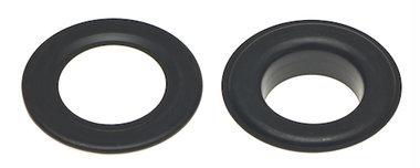 Nestels 19 mm (maat #32) zwart staal (ca. 50 sets)