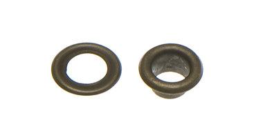 Nestels 5 mm (maat #309) bronskleurig staal (ca. 100 sets)