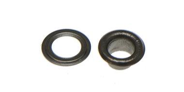 Nestels 5 mm (maat #309) oud zilverkleurig staal (ca. 100 sets)