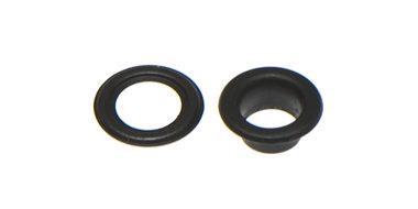Nestels 5 mm (maat #309) zwart staal (ca. 100 sets)